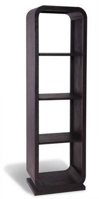 Ultimum Chestnut 5 Teir Open Back Shelving Unit