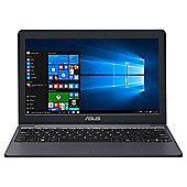 Asus VivoBook E203 11.6 inch Windows 10 Office 365 Celeron Laptop 2GB RAM 32GB Storage - Star Grey