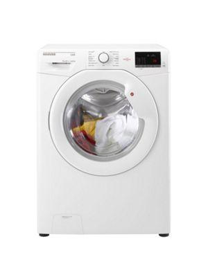 Hoover HL41472D3W 1400 spin Slim Depth Washing Machine - 7kg Load, White
