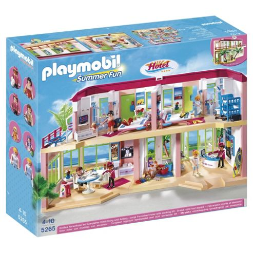 Playmobil 5265 Summer Fun Large Furnished Hotel