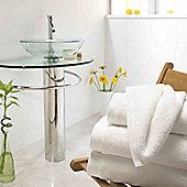 Luxury 800gsm Boutique 100% Turkish Cotton Towel - White