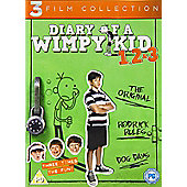 Diary Of a Wimpy Kid 1-3 DVD Boxset