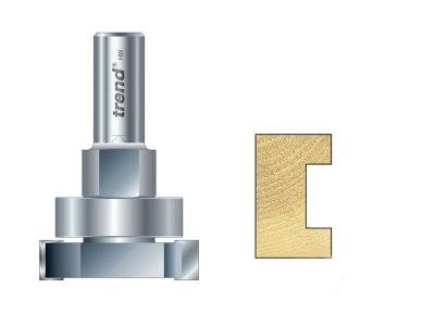 Trend 348 x 1/2in TCT Intumescent Cutter Set 15mm