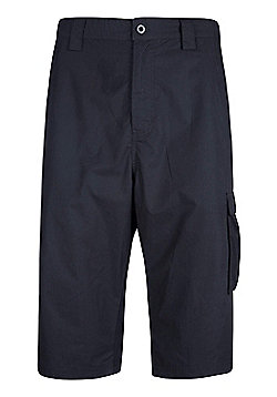 Mountain Warehouse Trek Mens Long Short - Black