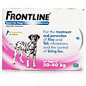 Frontline Spot On (Large Dog 20-40kg) [6 pack]