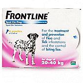 Frontline Spot On (Large Dog 20-40kg) [6 pack]