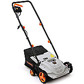 VonHaus 2 in 1 Electric Lawn Scarifier Aerator 1500W with 4 Working Depths