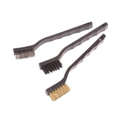 Abrasive Brush Set (3 Assorted)