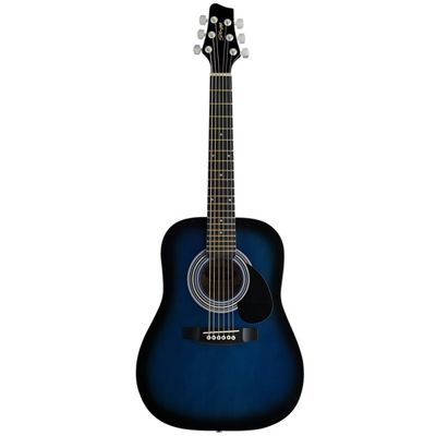 Stagg 3/4 Size Blue Acoustic Guitar