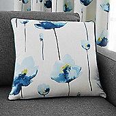 Fusion Kiera Teal Cushion Cover - 43x43cm