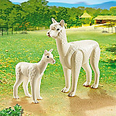 Playmobil City Life Zoo Alpaca with Baby