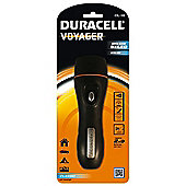 Duracell rubber voyager 5 LED torch 2xD