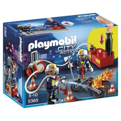 Playmobil 5365 City Action Fire Brigade Firefighter with Pump