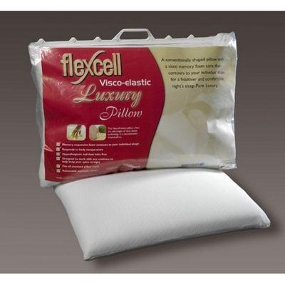 Breasley Flexcell Luxury Visco Rhomboid Coolmax Pillow