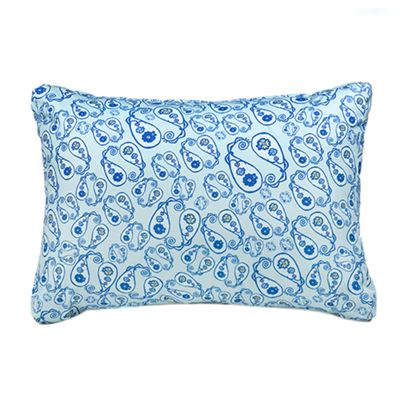 Boho Blue Printed Water Resistant Pallet Furniture Hollowfibre Back Cushion