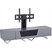 Alphason Chromium Grey Cantilever TV Stand for up to 50 inch TVs