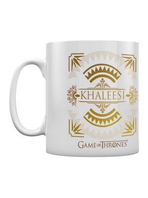Game of Thrones Khaleesi White 10oz Ceramic Mug