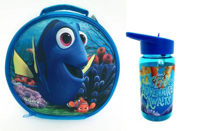Polar Gear Finding Dory Round 3D Lunch Bag & Bottle