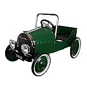 Great Gizmos - Classic Pedal Car Green