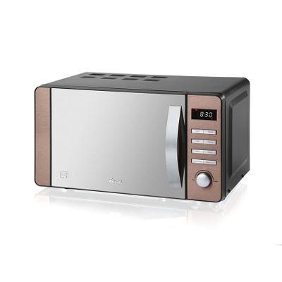 Swan 800W Digital Microwave - Copper