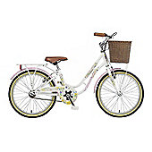 "Viking Crystal 20"" Wheel Girls Bike White"