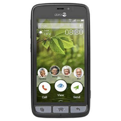Doro 8030 Black Steel -SIM Free