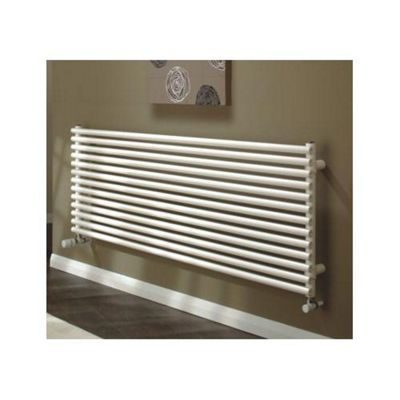 TRC Volcano Double Horizontal Radiator with Brackets, 720mm High x 1471mm Wide, RAL
