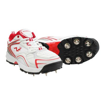 Woodworm Pro Select Spike Cricket Shoes Size 6