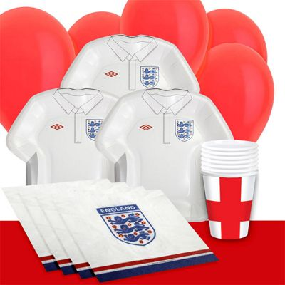 England Party Pack - Value 8 Pack