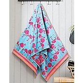 Pink Flamingo Beach Towel - 75 x 160 cm