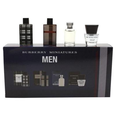 Burberry Men miniature collection 4 pc