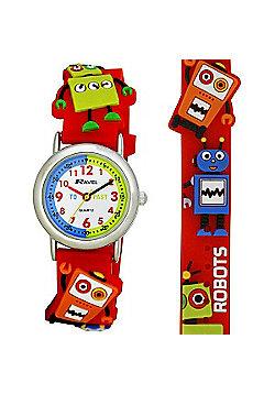 Boys Robot Time Teacher Watch