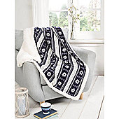 Alpine Navy Throw - 130 x 160cm