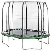 7ft X 10ft JumpKing Oval Combo Trampoline