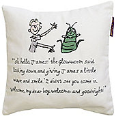 James and the Giant Peach Square Cushion - 30 x 30 cm