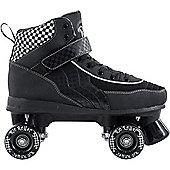 Rio Roller Mayhem Quad Roller Skates - Black/White - Black
