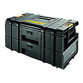 DeWalt DWST1-70728 Tough Box DS250 Tool Box and Organiser with 2 Drawers