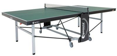 Sponeta Deluxe Outdoor Tennis Table - Green