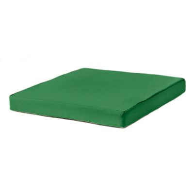 Green Water Resistant 58cm x 54cm Replacement Seat Pad for Rattan Furniture