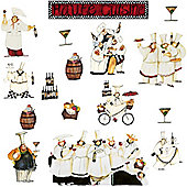 Kitchen Wall Stickers - Chef's