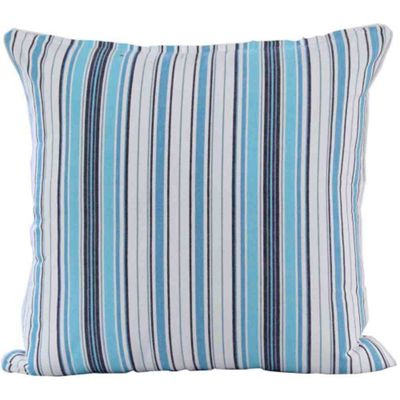 Homescapes Cotton New England Stripe Cushion Cover, 45 x 45 cm