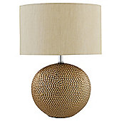 Tesco Metallic Base Table lamp Bronze