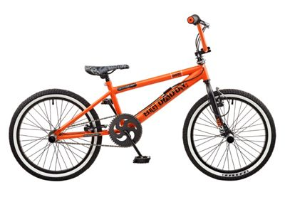 Rooster Big Daddy 20 BMX Orange/Black with Spoke Wheels