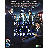 Murder On The Orient Express (2017) 4K UHD+BD+DD
