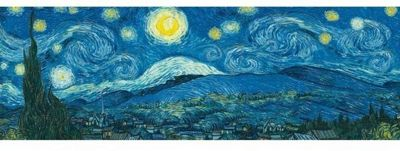 Starry Night - Vincent Van Gogh - 1000pc Panoramic Puzzle