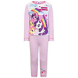 My Little Pony Baby Toddler Girls Pyjamas - Purple