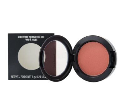 Mac Sheertone Shimmer Blush 6g Ambering Rose Make-Up For Her