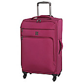 IT Luggage Megalite 4-Wheel Medium Cerise Suitcase