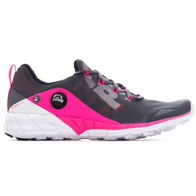 Reebok ZPump Fusion Womens Running Fitness Trainer Shoe Grey/Pink - UK 4