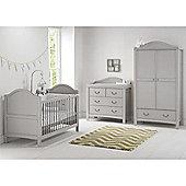 East Coast Toulouse 3 Piece + Nursery Room Set - Grey